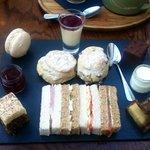 Afternoon tea... yum!