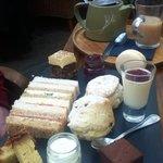 Afternoon tea...yummy
