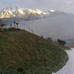 Early moning fog above Schladming