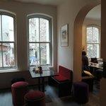 Das Manzara-Café am Galataturm