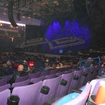 Stage view from Section 103