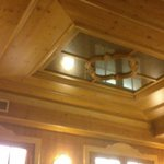 soffitto sala da pranzo