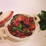 $8 !Mini chicken Claypot rice with truffle - good blend of Asian taste with European ingredients