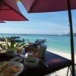 Petit déjeuner au paradise resort , souvenir inoubliable