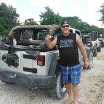great Jeep ride around the island!!!!