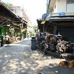 Le Baan Udom est situé dans ce quartier très sûr de Bangkok