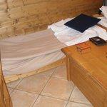 c'est le tiroir àroulettes dans lequel j'ai dormi pendant 1 semaine