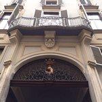Stemma di Palazzo Des Hayes di Mussano il Barbo dorato