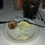 Tornado Steak House - Coquille Saint Jacques - Poached Sea Scallops in Wisconsin Cream