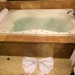 Everyday our Royal Service Butler, Agustin, prepared a bubble bath jacuzzi