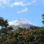 Volcano Arenal dalla nostra stanza