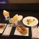 Cena en la habitación