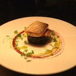 Pan Fried Sea Bass With Crushed New Potatoes And Wilted Spinach.....Delicious