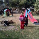 uno de los parques infantiles