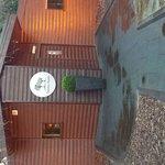 outside saunas