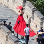 Wedding Party on the Great Wall