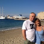mum n dad in rhodes town