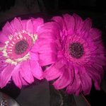 fiori sui tavoli