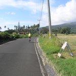 cycling near Hamoa Beach