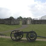 View with cannon