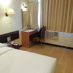 The room is larger than other HK hotel/motel with this price.