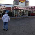 cute old diner