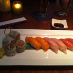 Sushi Dinner -salmon, yellowtail & tuna