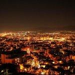 View from Alyosha at night