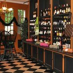 Full Bar Selection – of Wine, Beer, Spirits & Gourmet Coffees