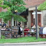 Outdoor Patio - live music in the summer