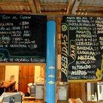 Grill & bar menu