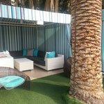 Main pool cabanas