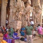 Temple sculpture-Muralitharan photo