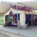 Our accomodations at Leleshwa