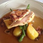 Chicken Breast with Roast Potato and Veges