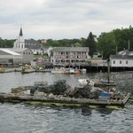 View of Boothbay Harbor