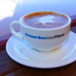 we serve Merlo coffee (coffe of the year 2012)