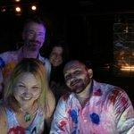 Group at Oxygen bar