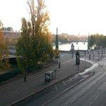 Vista al Sena y Louvre