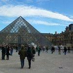 Panoramica del Louvre (a solo 200 metros del hotel)