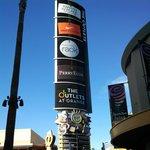 Sign for Outlets at Orange