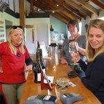 Wine tasting in Central Otago