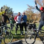 Rail Trail Cyclists