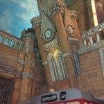 an ATM inside a Mumbai BEST bus model