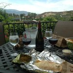 lunch at winery
