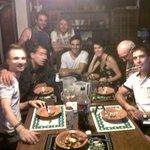 cenando berenjenas a la parmesana