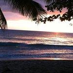 Peaceful sunset a short walk from inn