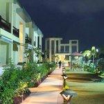 Night View of the Resort