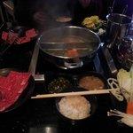 Shabu-shabu ingredients