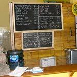 Cupit BBQ menu